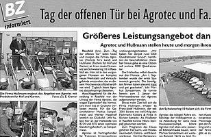 Sonderveröffentlichung in der Borkener Zeitung