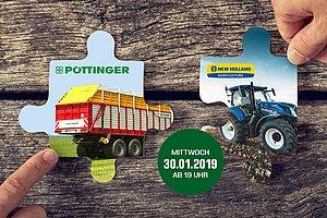 Produktvorstellung von PÖTTINGER und NEW HOLLAND