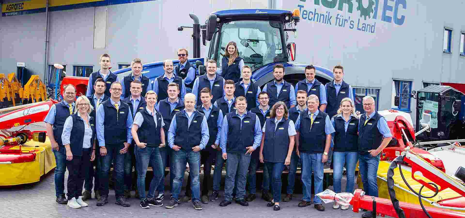 Das AGROTEC-Team